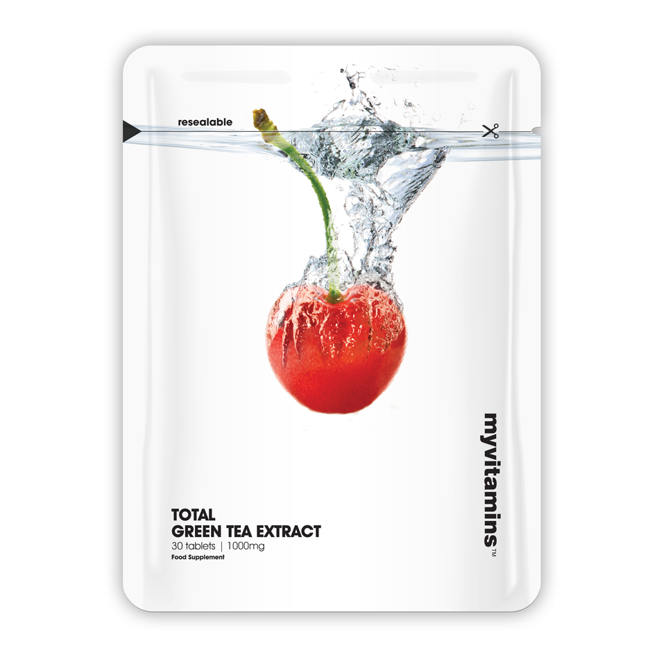 Total Green Tea Extract, 60