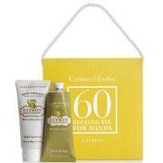 Set de productos de manos de limon Crabtree & Evelyn 60 Second Fix