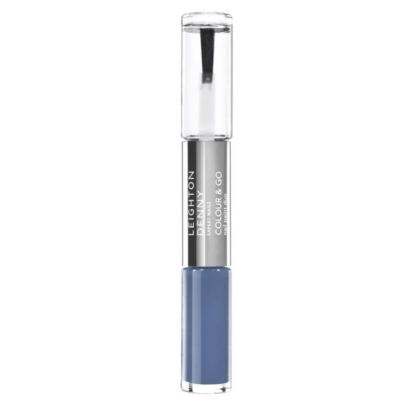 Leighton Denny Colour and Go Nail Paint Duo Between Blue