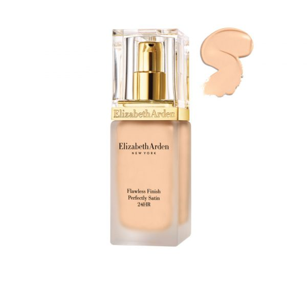 Elizabeth Arden Flawless Finish Perfectly Satin 24HR Makeup SPF15 - Alabaster 01 (30ml)