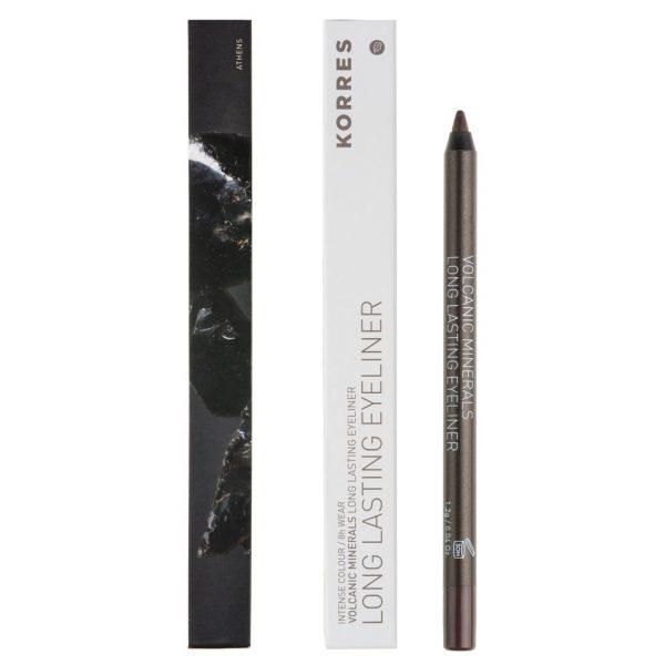 Korres Colour Volcanic Minerals Eye Pencil - 05 Olive Green