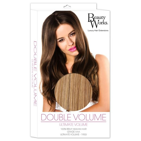 Beauty Works Double Volume Remy Hair Extensions - Tanned Blonde 10/14/16