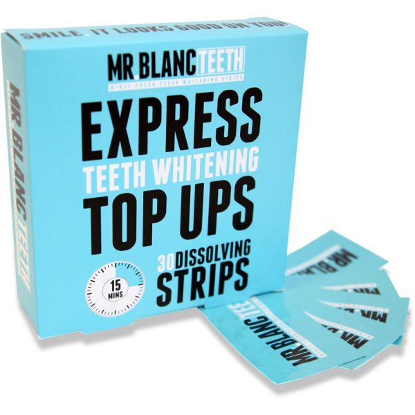 Mr Blanc Express Teeth Whitening Strips 30 Strips
