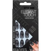 Elegant Touch Trend After Dark Nails - Sheer Black Matte/Miss Lead