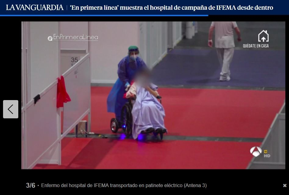 ifema silla de ruedas electrica madrid