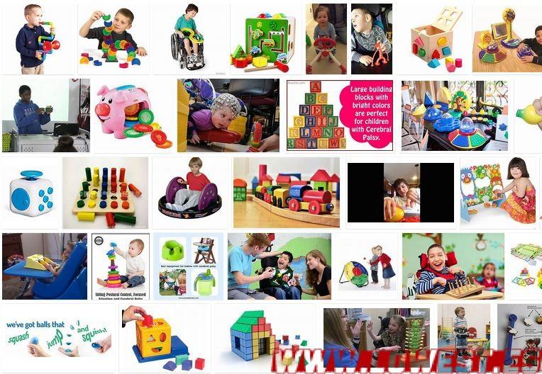 juguetes niños con paralisis cerebral