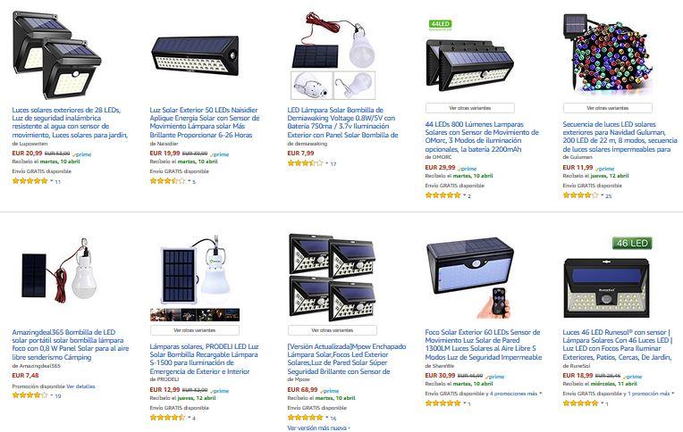 led solar exteriores notizalia ahorro