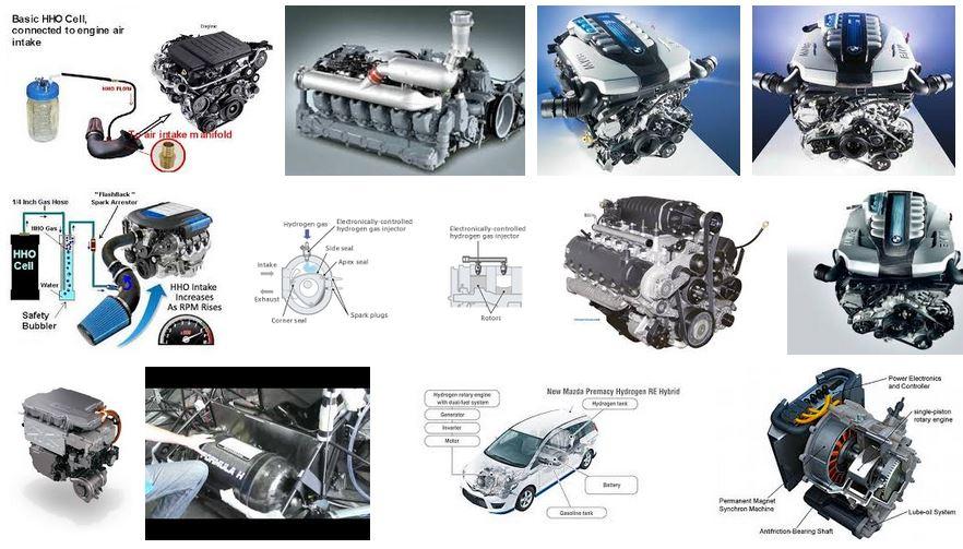 motor hidrogeno coche autos