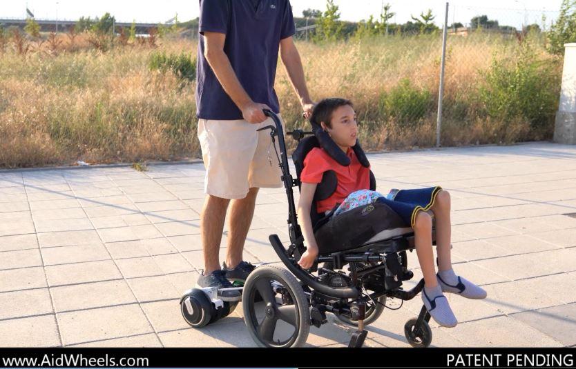 patinete electrico hoverboard silla de ruedas
