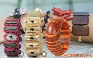 pulseras abalorios colores