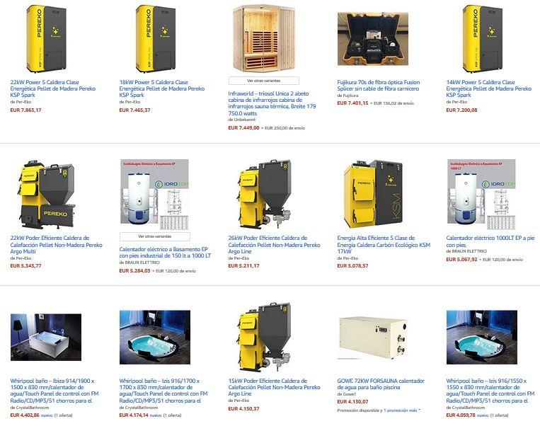 calentadores industriales profesionales agua