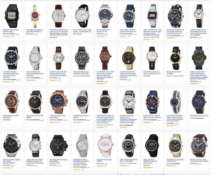 relojes de moda de los famosos celebrities
