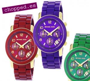 relojes moda colores