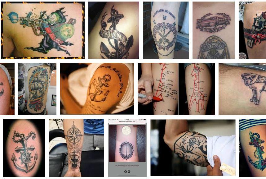 tatuajes de la armada
