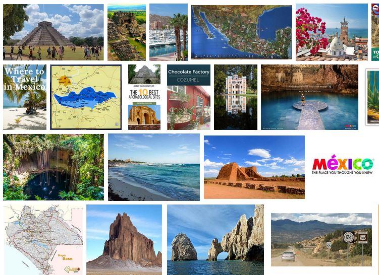 ideas de viaje a mexico circuito vacaciones lugares