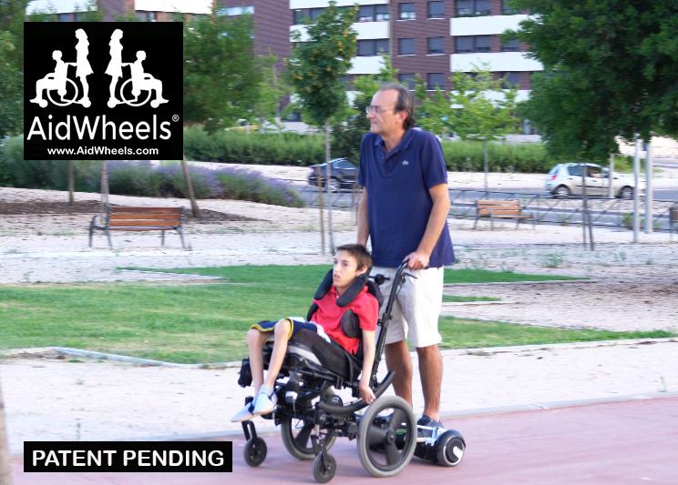 Adaptar patinete hoverboard a una silla de ruedas