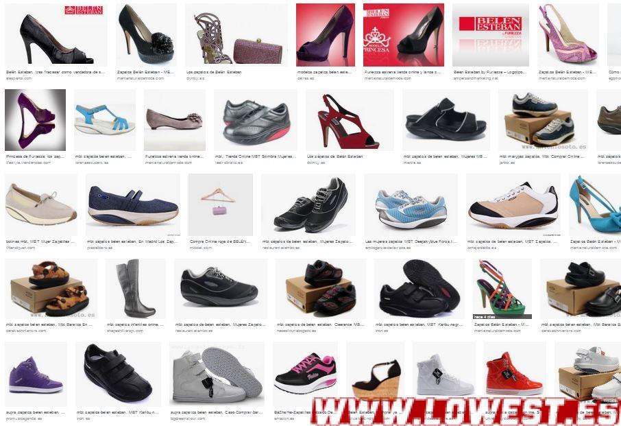 zapatos furiezza belen esteban donde comprar