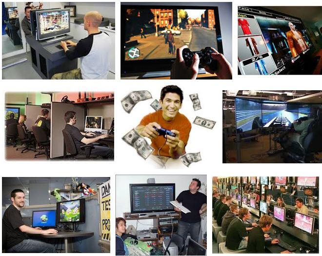 empleo remunerado probador videojuegos
