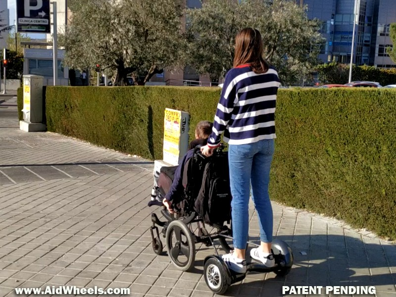 micromovilidad sillas de ruedas discapacitados movilidad reducida