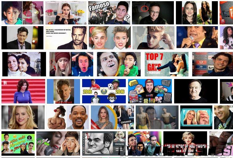 famosos youtube