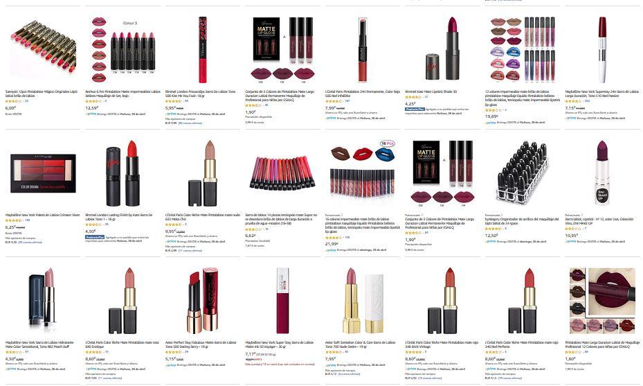ofertas maquillaje de labios primeras marcas