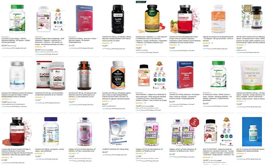 vitaminas suplementos q10 notizalia