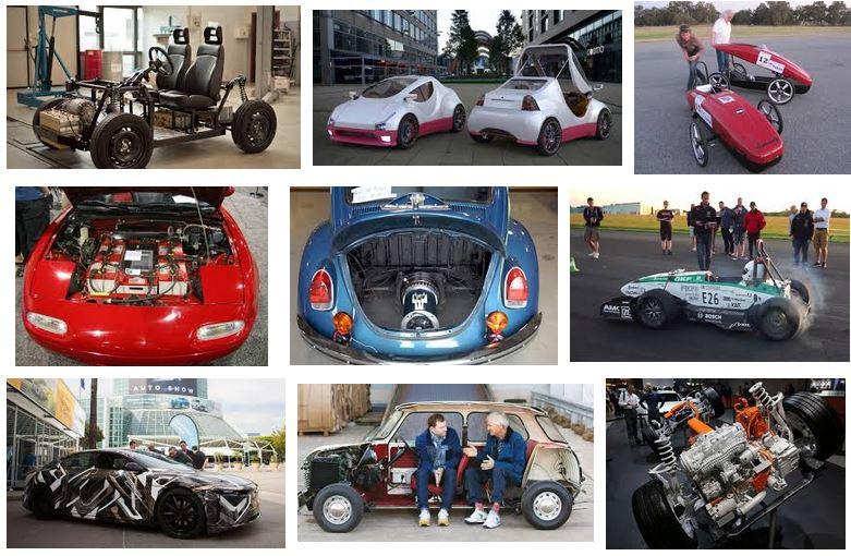como construir tu propio coche electrico
