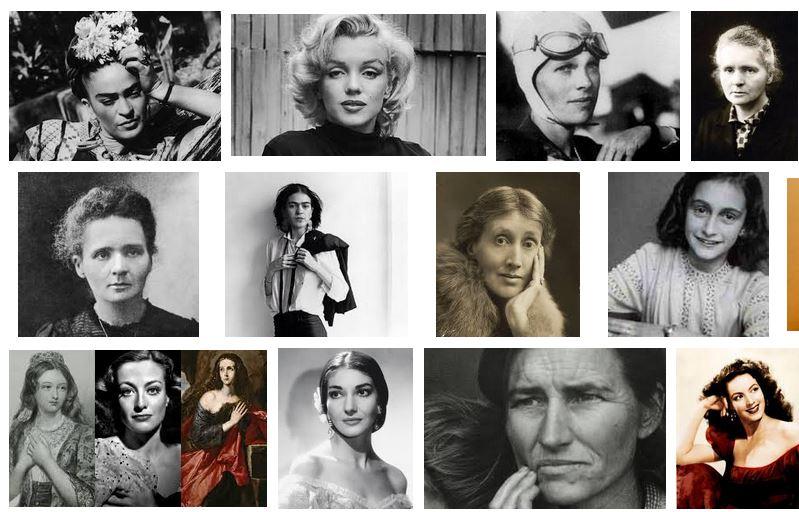 mujeres famosas y sus descubrimientos