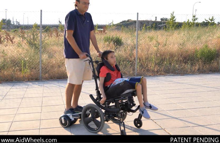 silla de ruedas para hoverboard