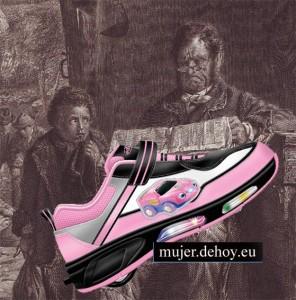 zapatos infantiles fotografias