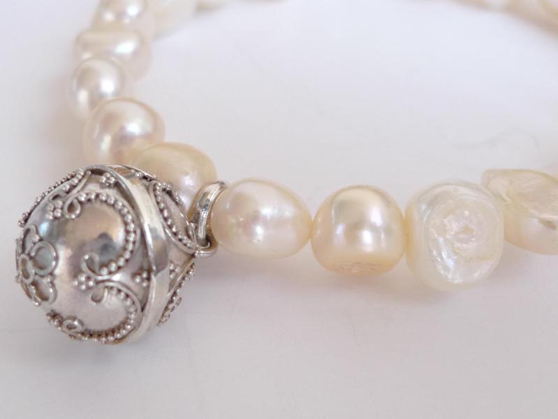 collar perlas autenticas