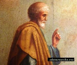 aristoteles pintura cuadro