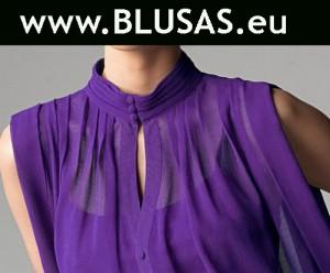 blusa color añil
