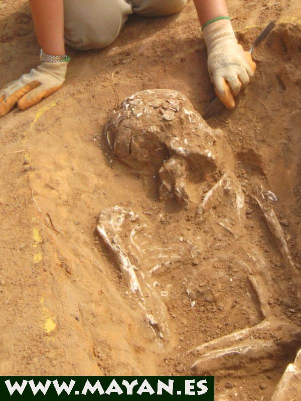 cooperar yacimientos arqueologicos