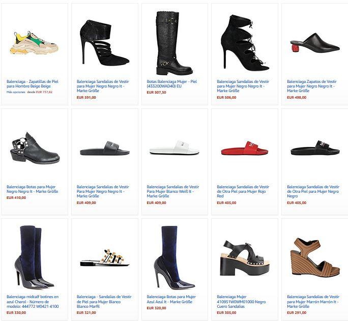 zapatos balenciaga mujer donde comprar online