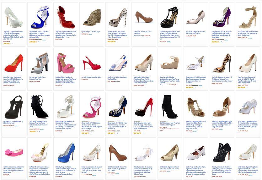 zapatos peep toe para mujer notizalia
