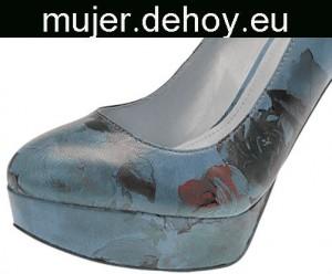 zapatos mujer perla