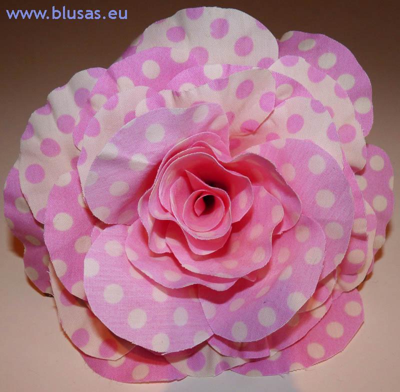 flores gitana flamenca