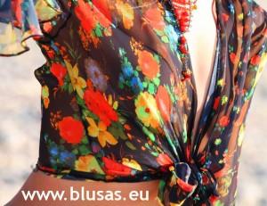 blusas retro vintage
