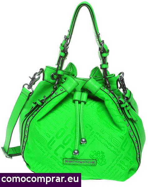 bolso verde menta