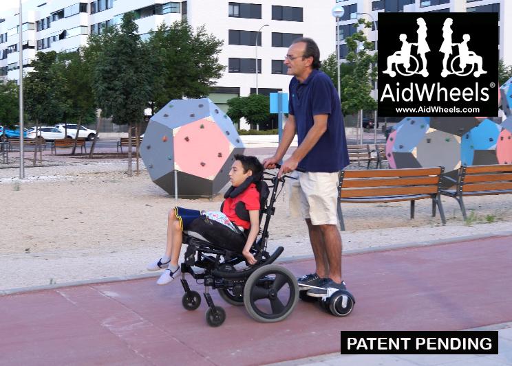 inventos para niños con paralisis cerebral