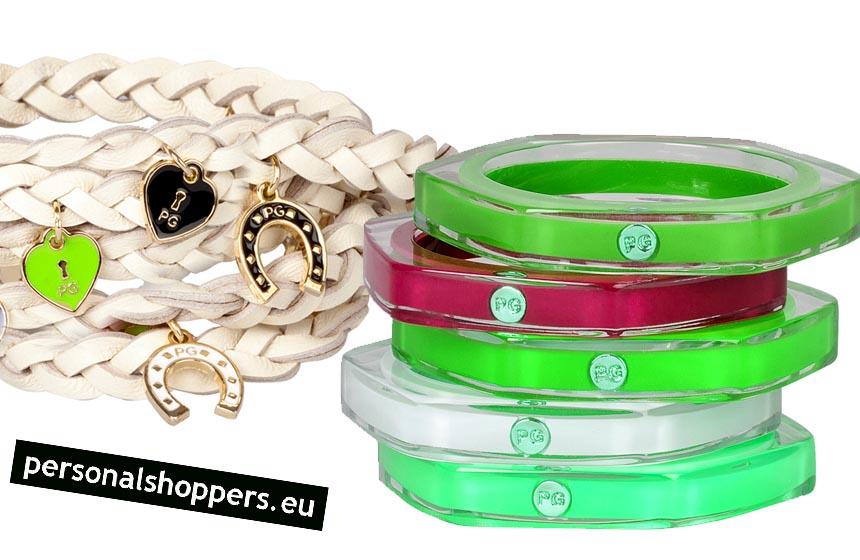 pulseras moda colores