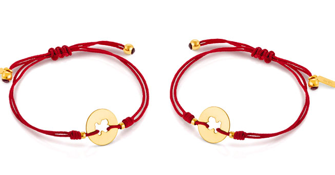 pulsera tous red
