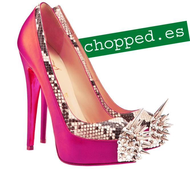 zapatos rosa modernos