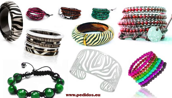materiales pulseras moda