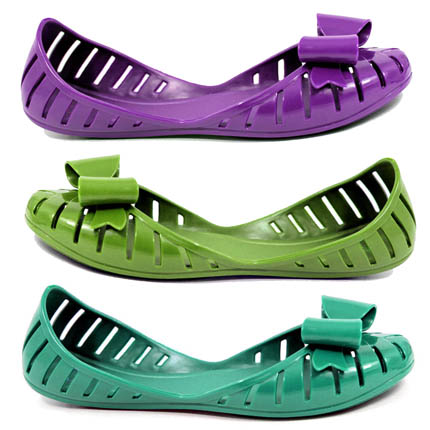 zapatos goma verano