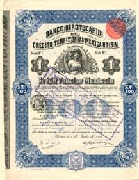 bonos historicos mejicanos
