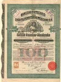 bonos historicos mexicanos