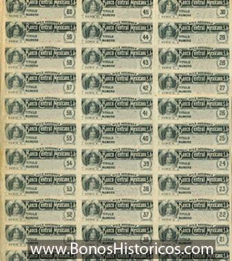 cupones bonos historicos