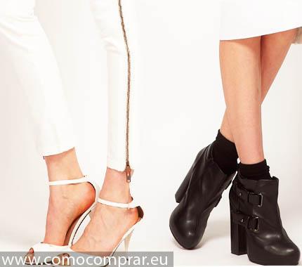 combinar zapatos mujeres
